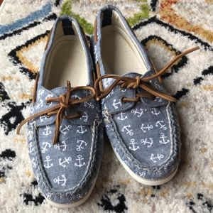 Sperry for J.Crew Anchor boat shoes